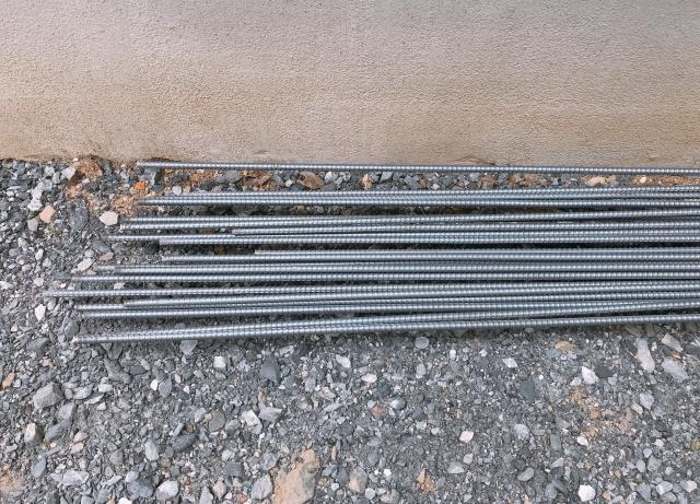 鉄筋の組立・配置・加工てについて