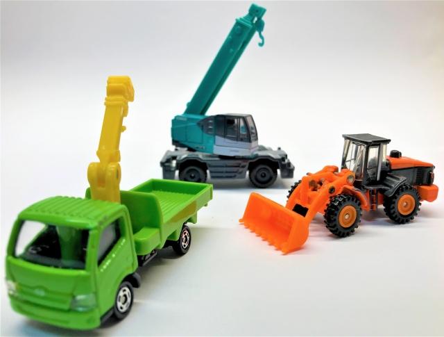 土木工事に必要な機械
